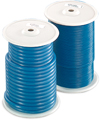 Wax wire on rolls, blue, round, ø 4.0 mm, soft