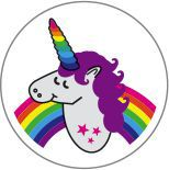 Decal Unicorn
