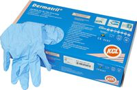 Dermatril®, disposable rubber gloves, Size S