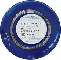 CoCr welding wire, ø 0.35 mm, 2 m