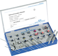 Expansion screw sample kit, filled